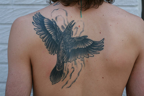 crow tattoos photo - 20