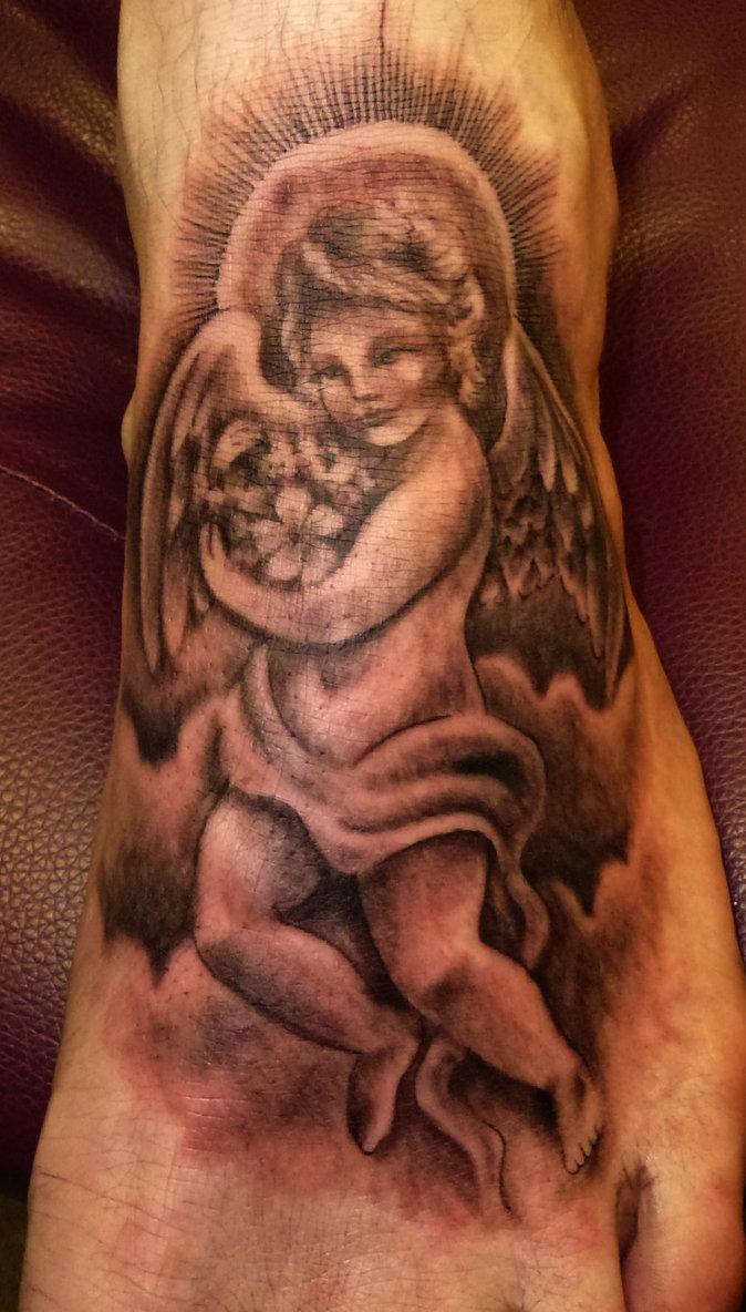 cupid cherub tattoos photo - 10