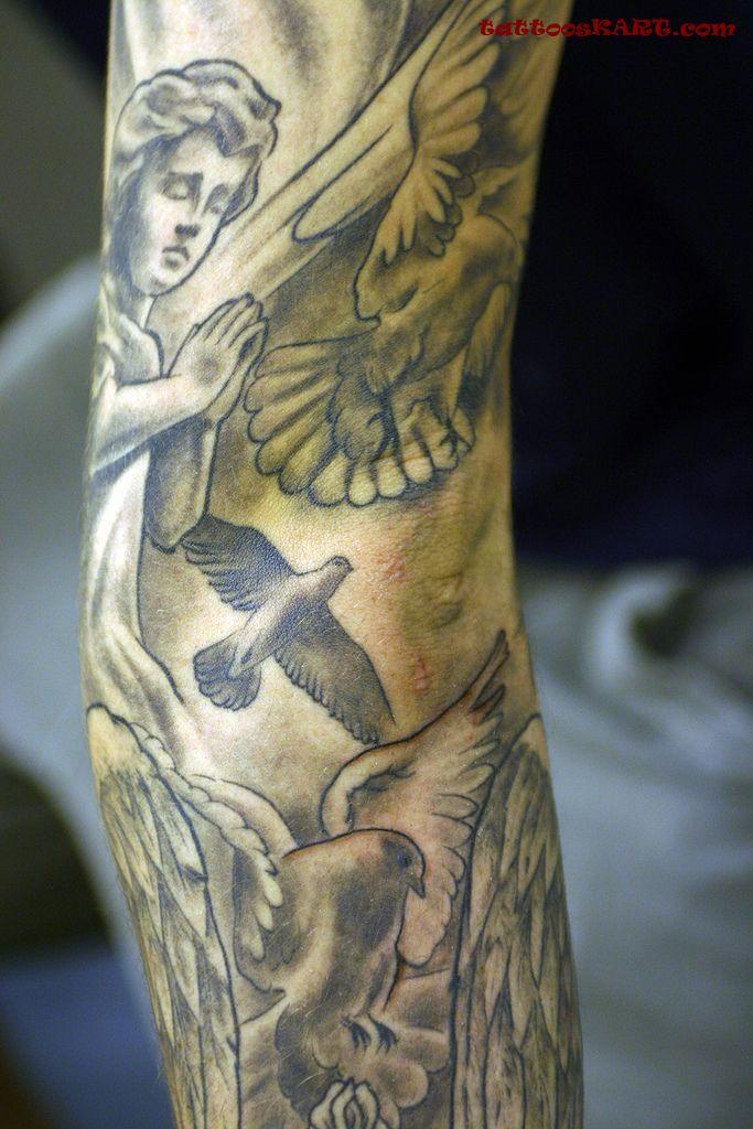 cupid cherub tattoos photo - 11