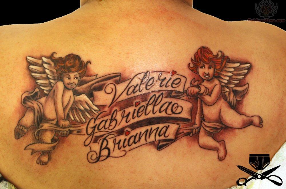 cupid cherub tattoos photo - 20