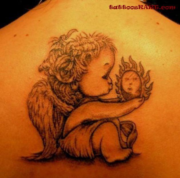 cupid cherub tattoos photo - 25