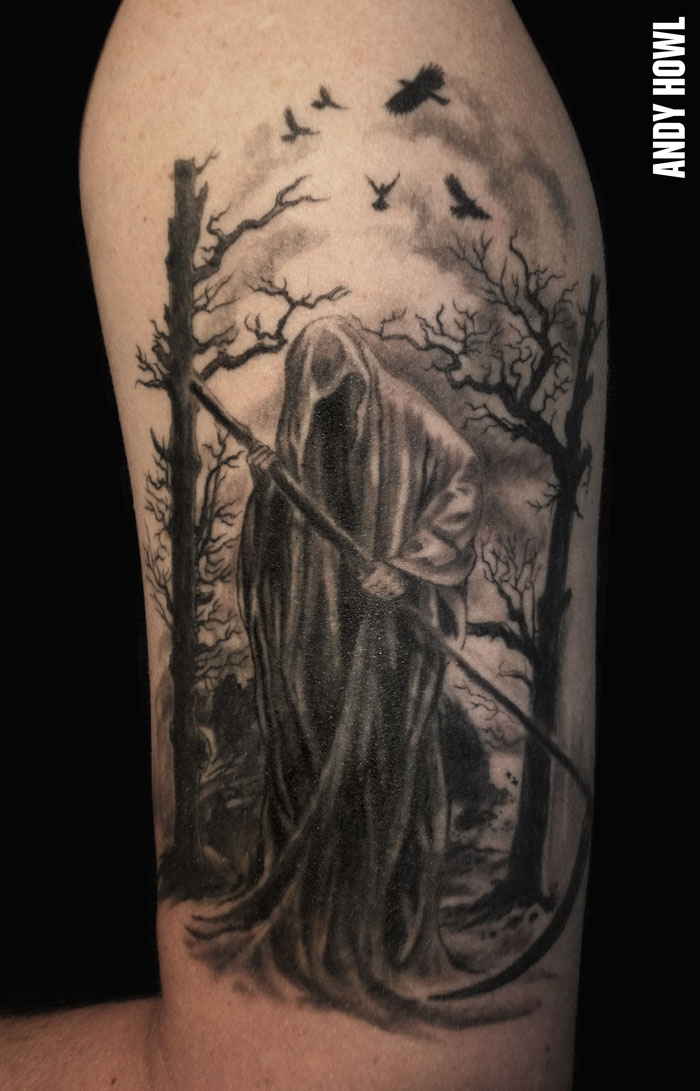 death tattoos photo - 1