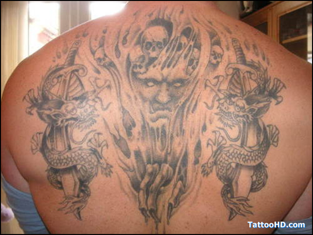 death tattoos photo - 10