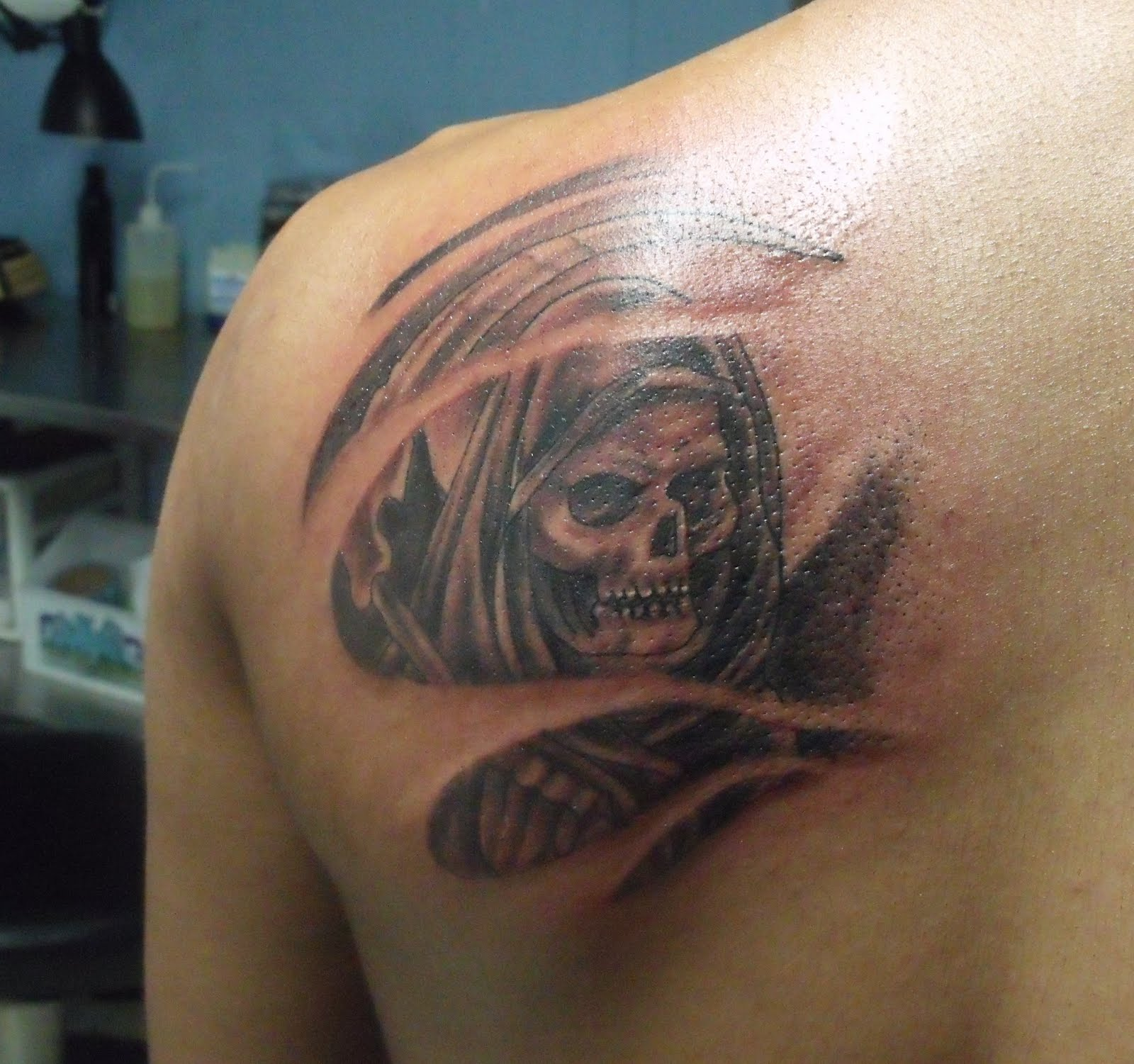 death tattoos photo - 14