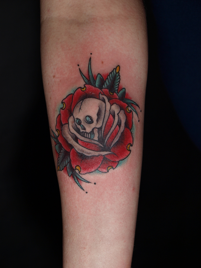 death tattoos photo - 18