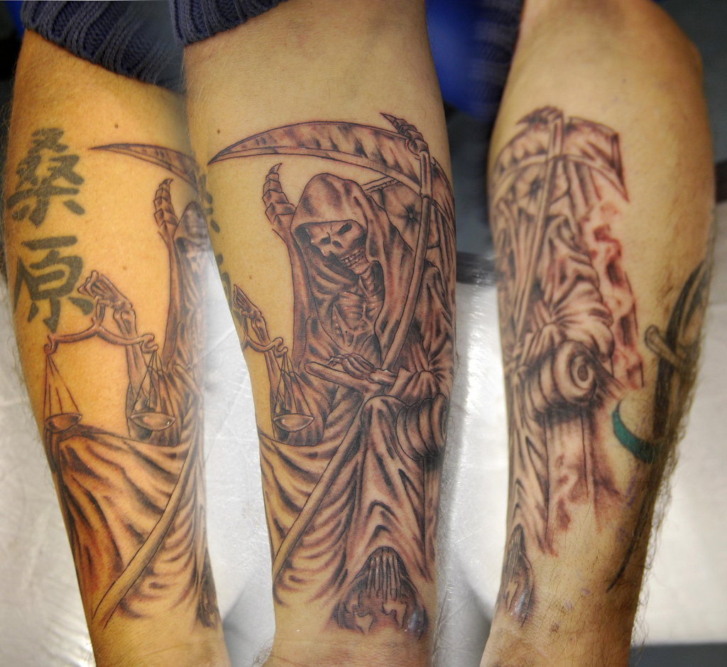 death tattoos photo - 19