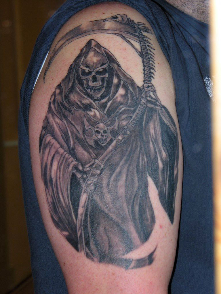 death tattoos photo - 20