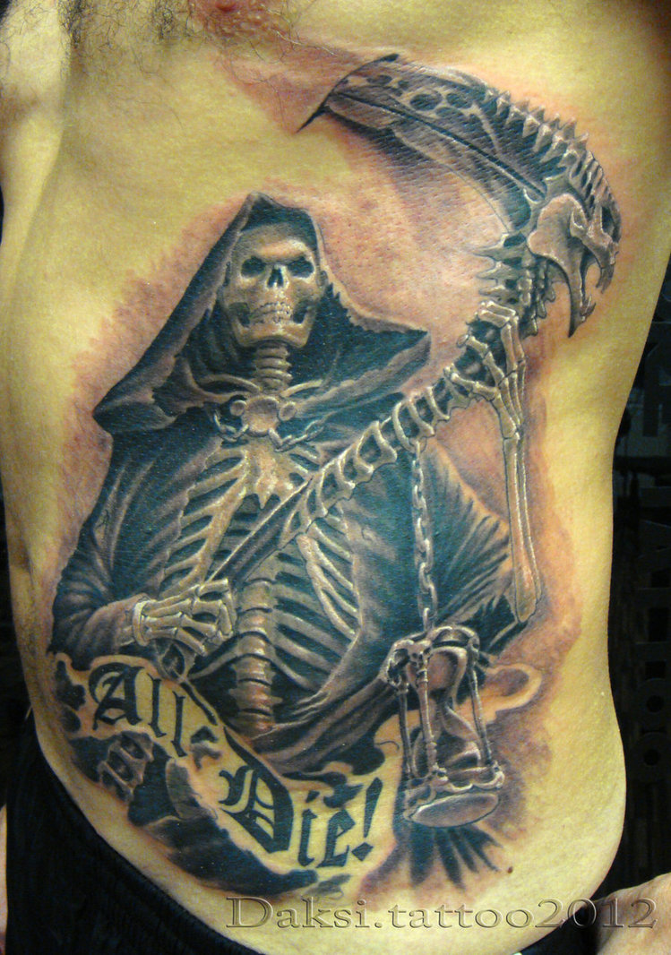 death tattoos photo - 23