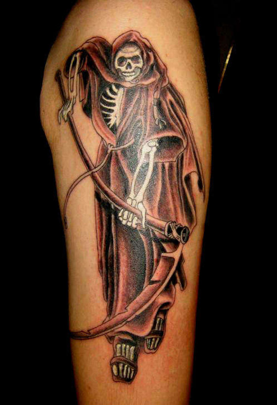 death tattoos photo - 31