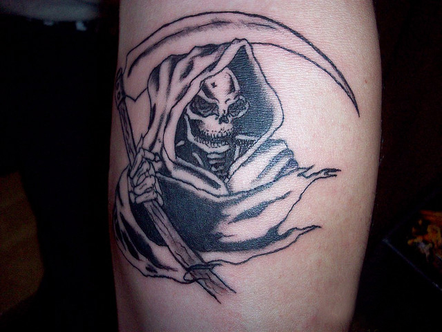 death tattoos photo - 9