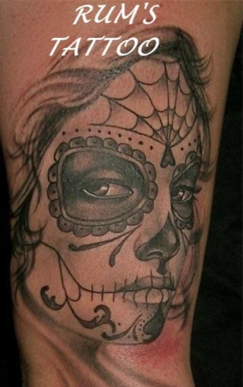 dia de los muertos tattoos photo - 10