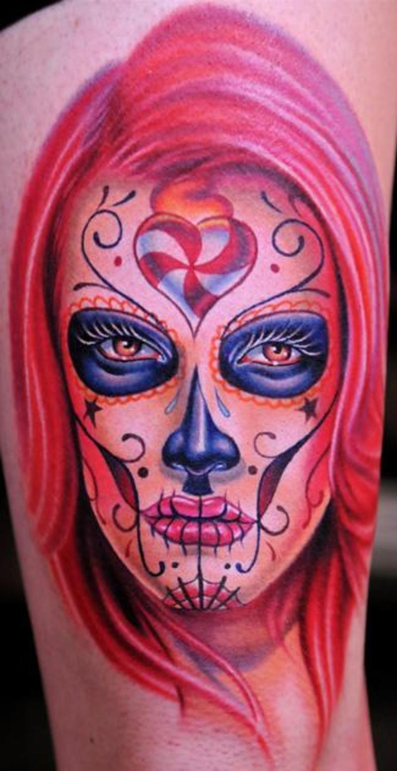 dia de los muertos tattoos photo - 16