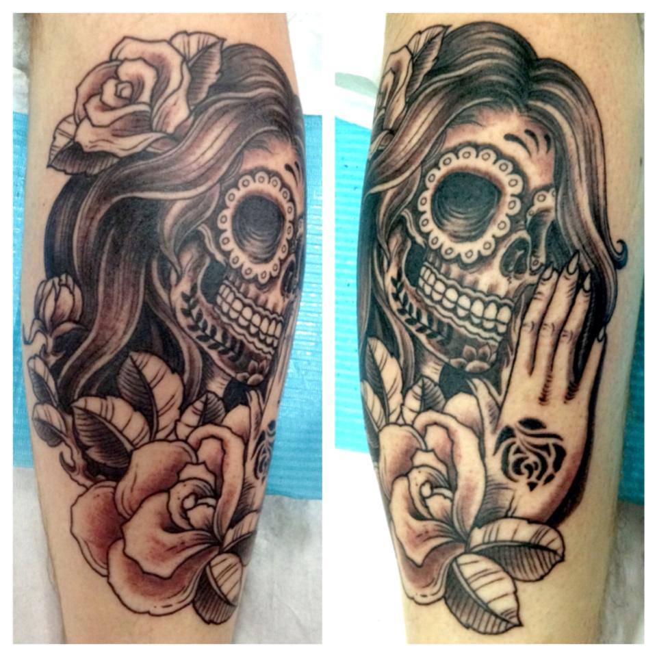 dia de los muertos tattoos photo - 17