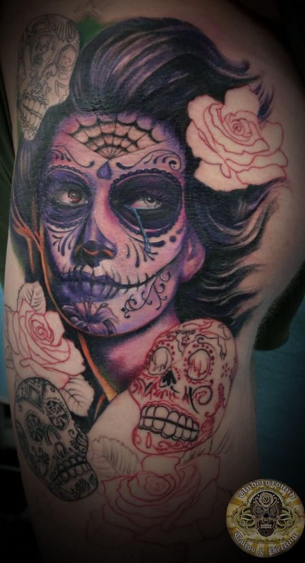 dia de los muertos tattoos photo - 19