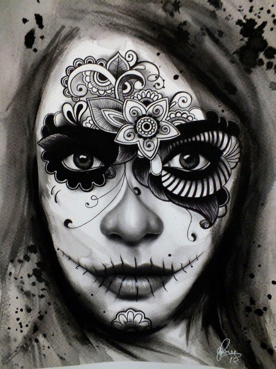 dia de los muertos tattoos photo - 20