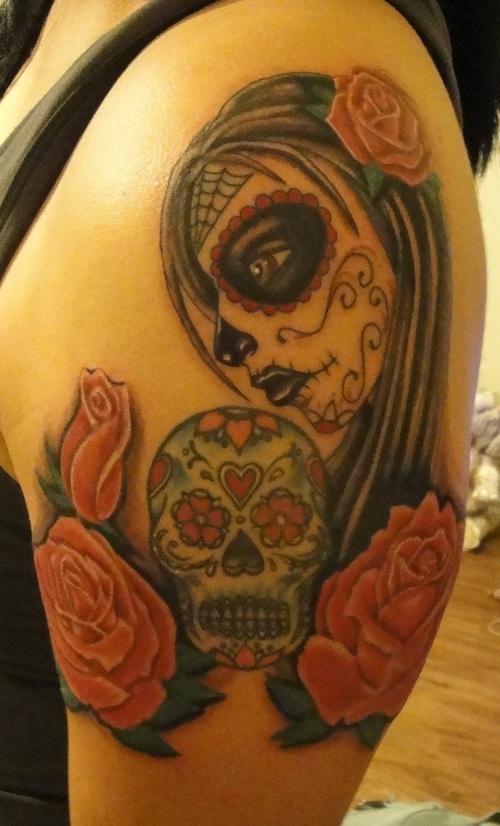 dia de los muertos tattoos photo - 21