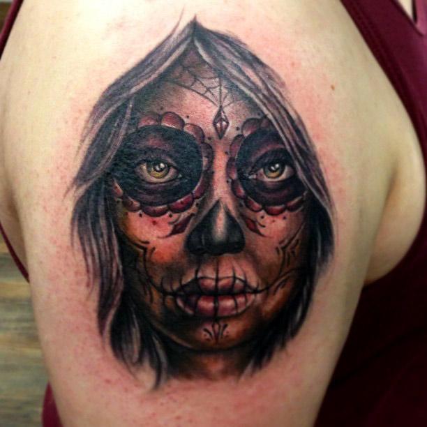 dia de los muertos tattoos photo - 22
