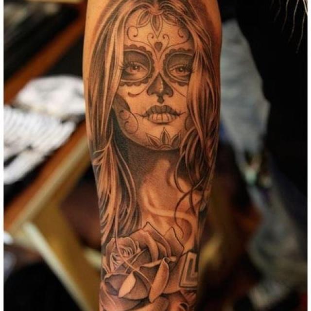 dia de los muertos tattoos photo - 23