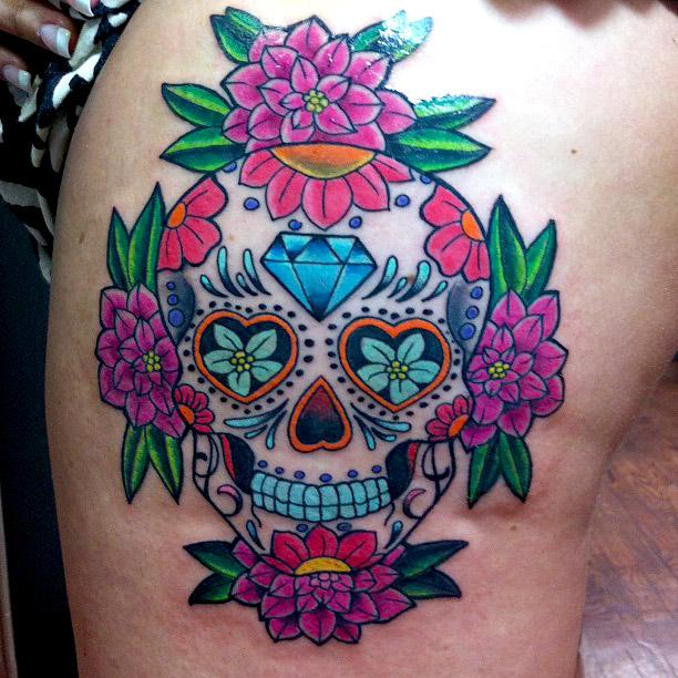 dia de los muertos tattoos photo - 24