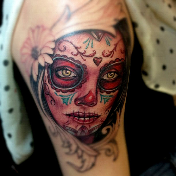 dia de los muertos tattoos photo - 25