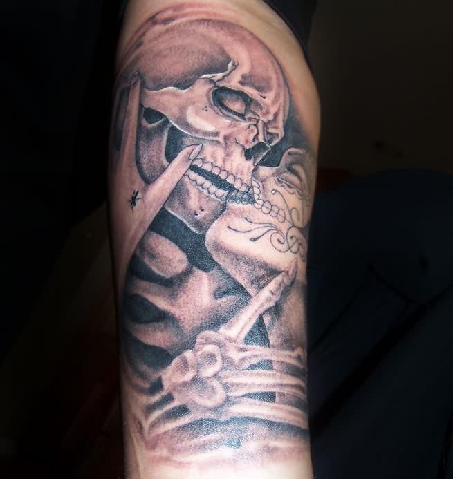 dia de los muertos tattoos photo - 3