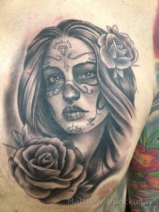 dia de los muertos tattoos photo - 4