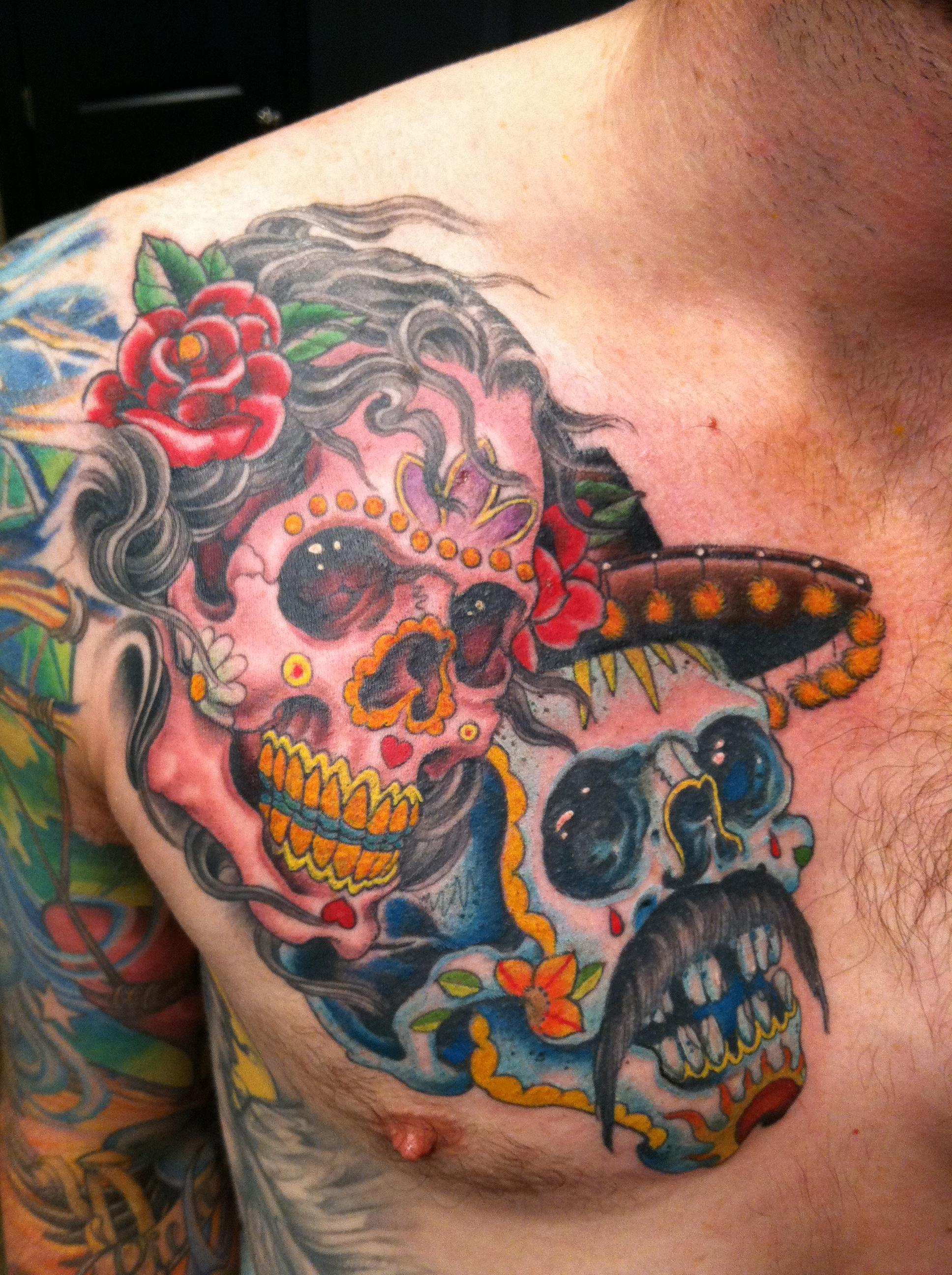 dia de los muertos tattoos photo - 5