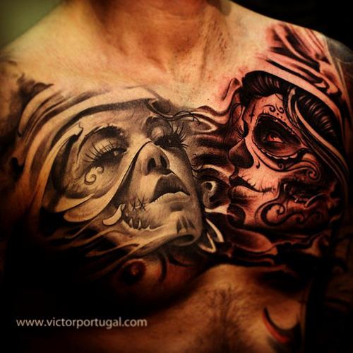 dia de los muertos tattoos photo - 9