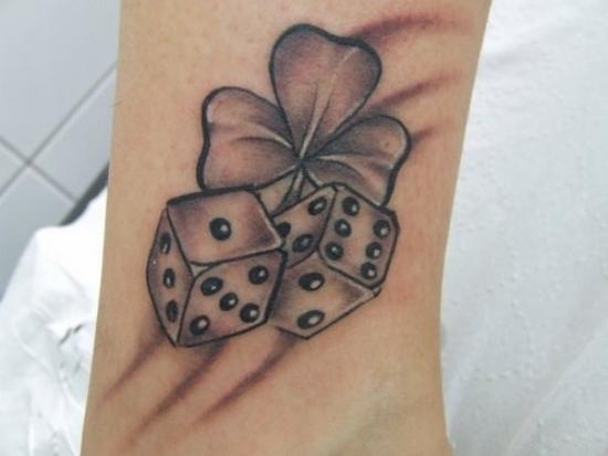 dice tattoos photo - 2