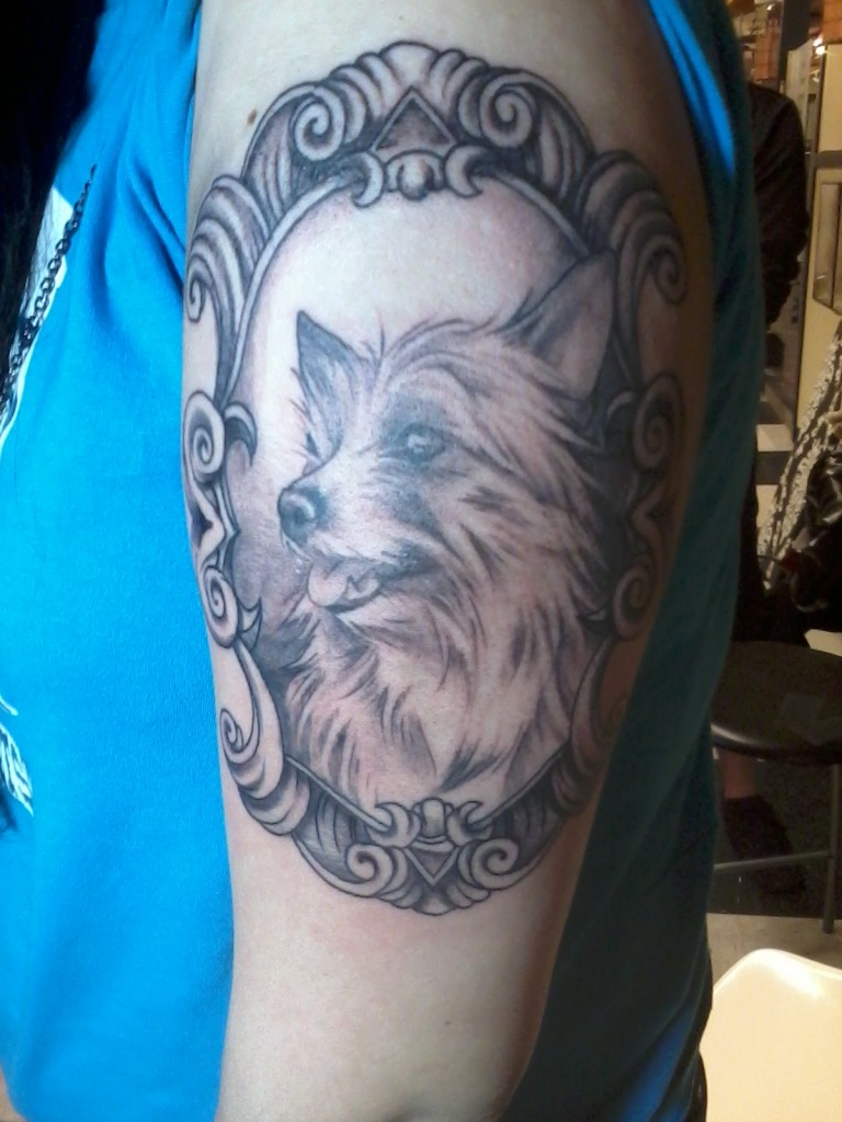 dog tattoos photo - 18