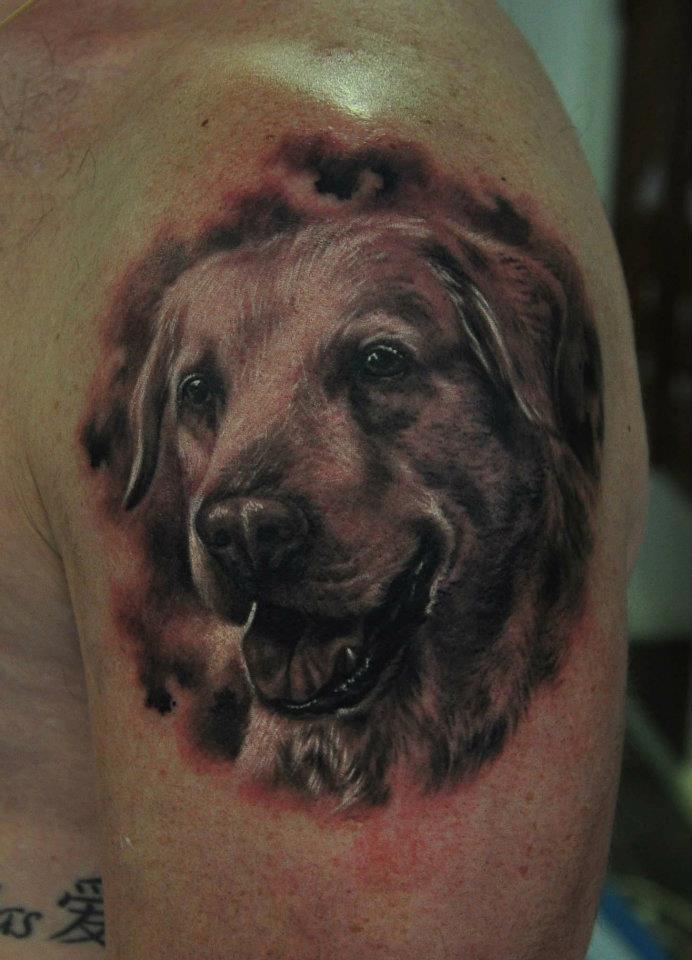 dog tattoos photo - 25