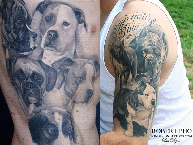 dog tattoos photo - 30