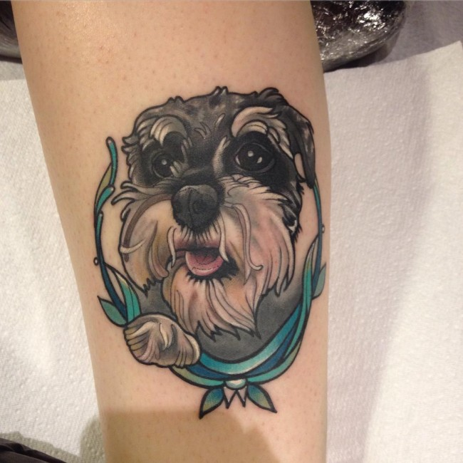 dog tattoos photo - 36