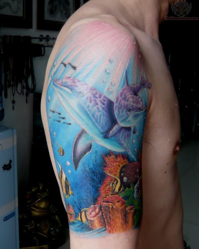 dolphin tattoos photo - 8