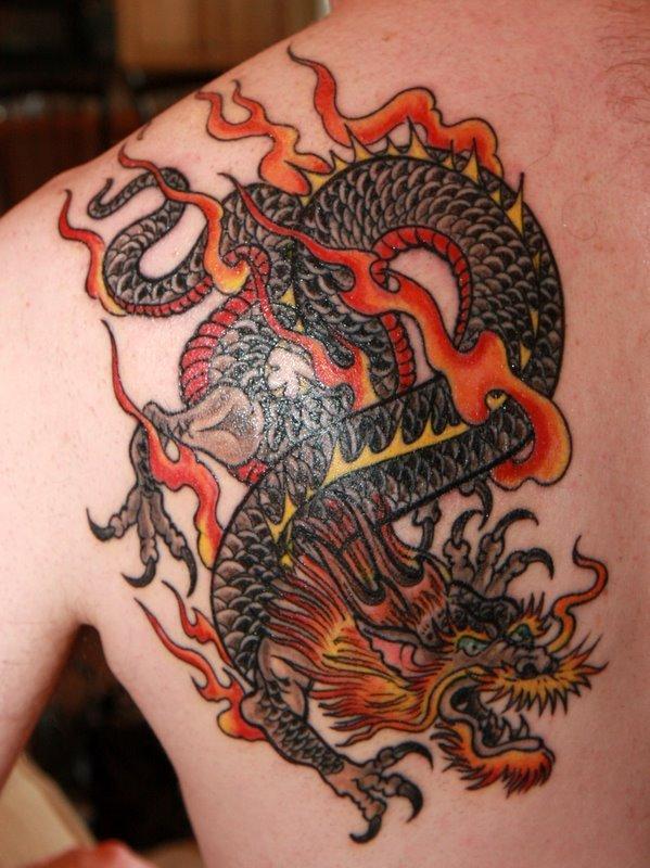 dragon tattoos photo - 10