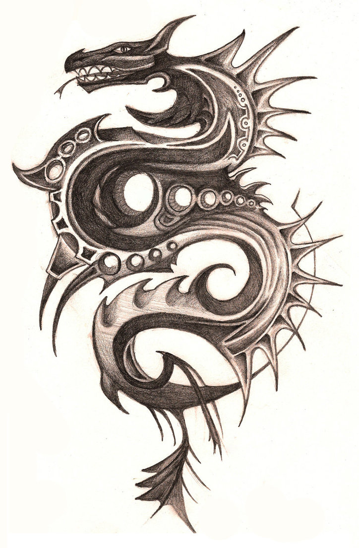 dragon tattoos photo - 25