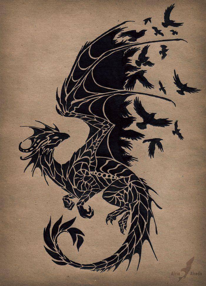 dragon tattoos photo - 28