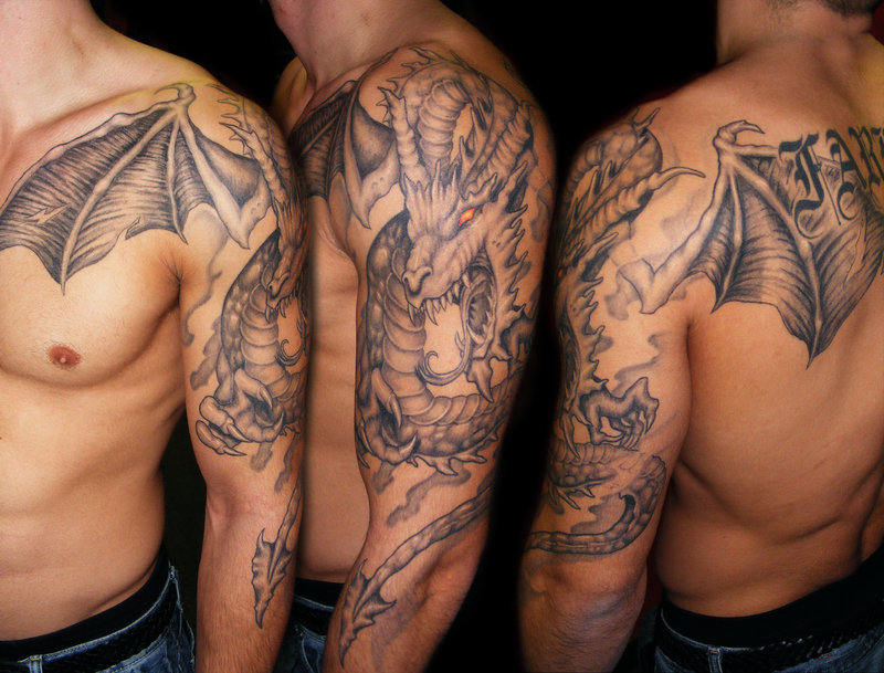 dragon tattoos photo - 4