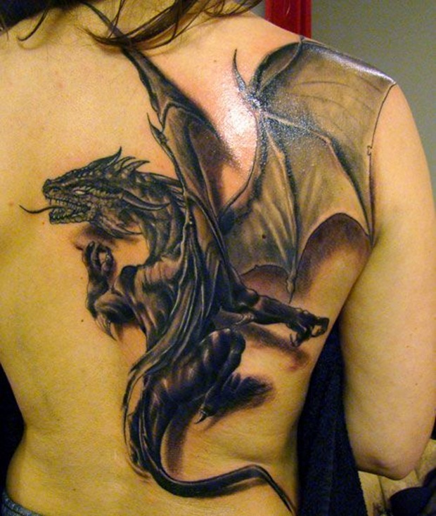 dragon tattoos photo - 5