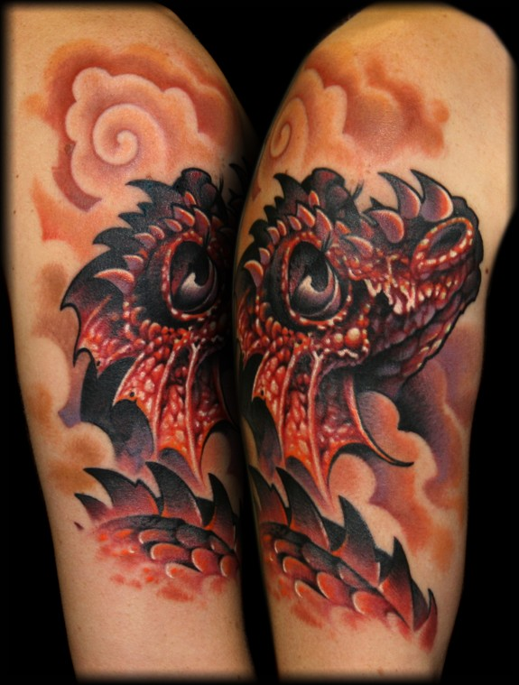 dragon tattoos photo - 7