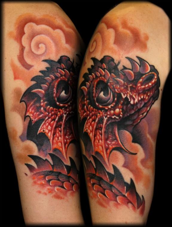 dragon tattoos photo - 7