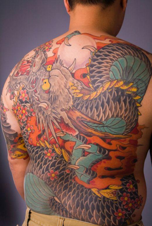 dragon tattoos photo - 8