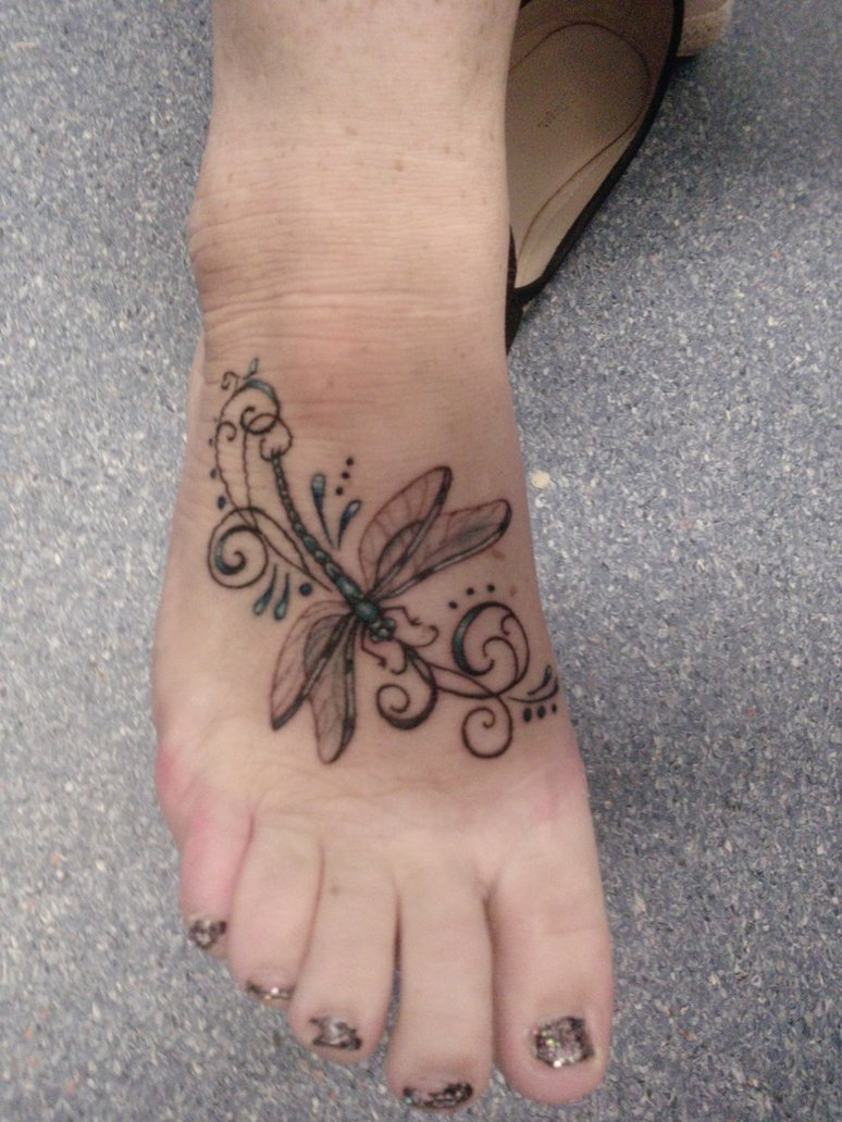 dragonfly tattoos photo - 16