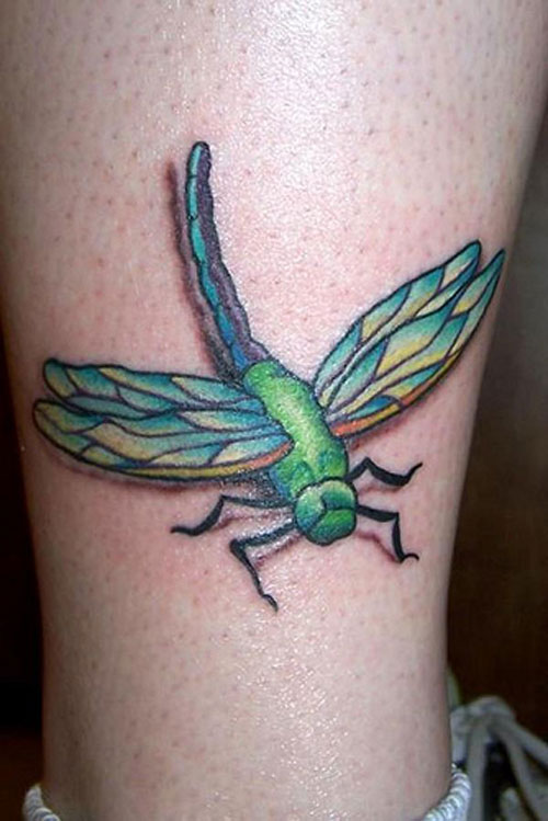dragonfly tattoos photo - 17