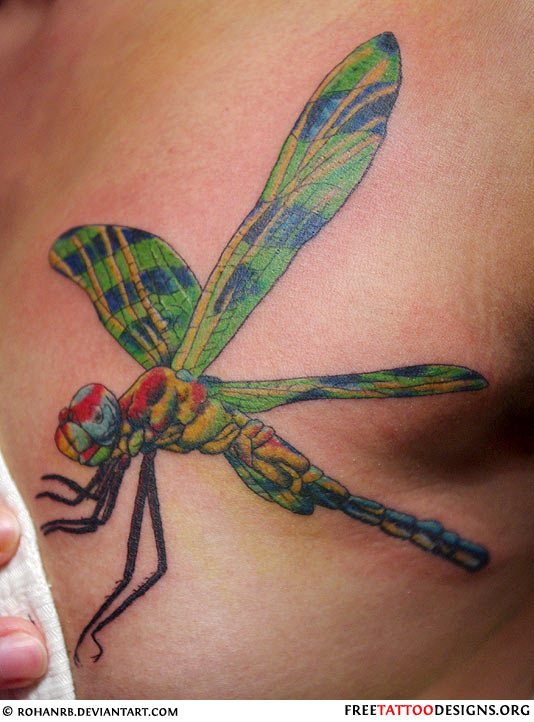 dragonfly tattoos photo - 19