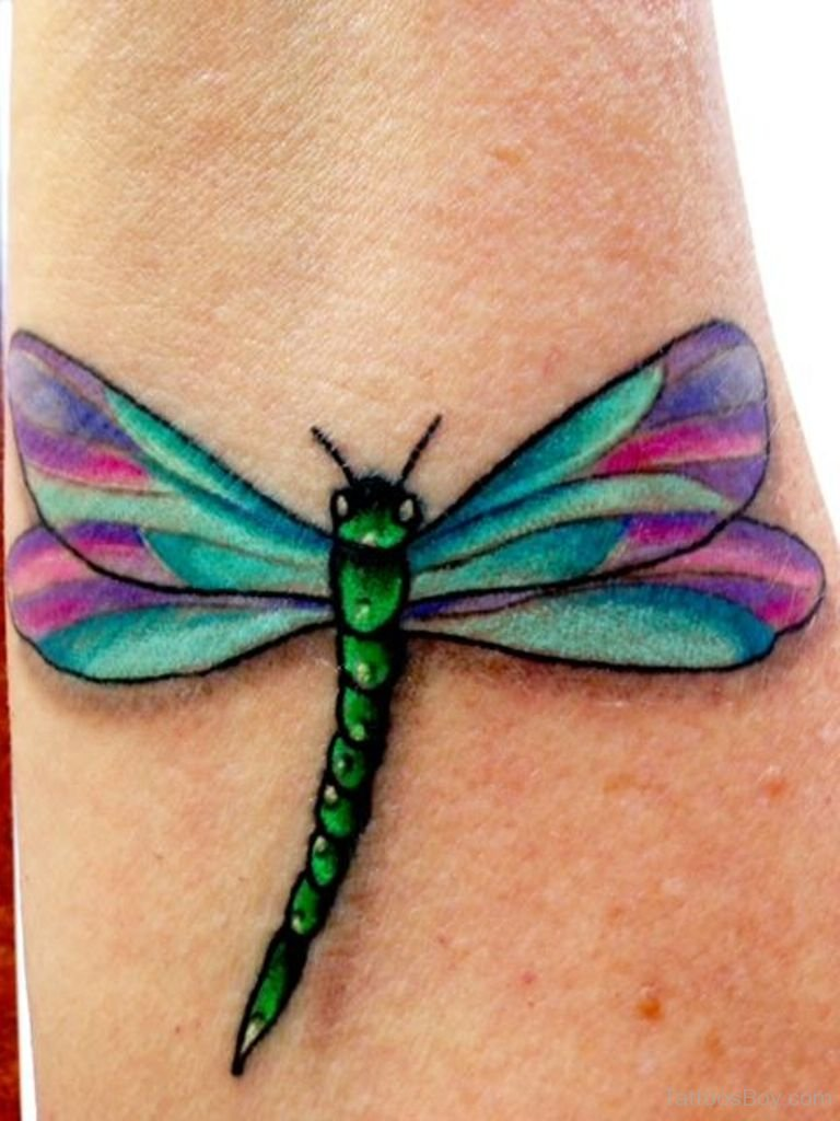 dragonfly tattoos photo - 22