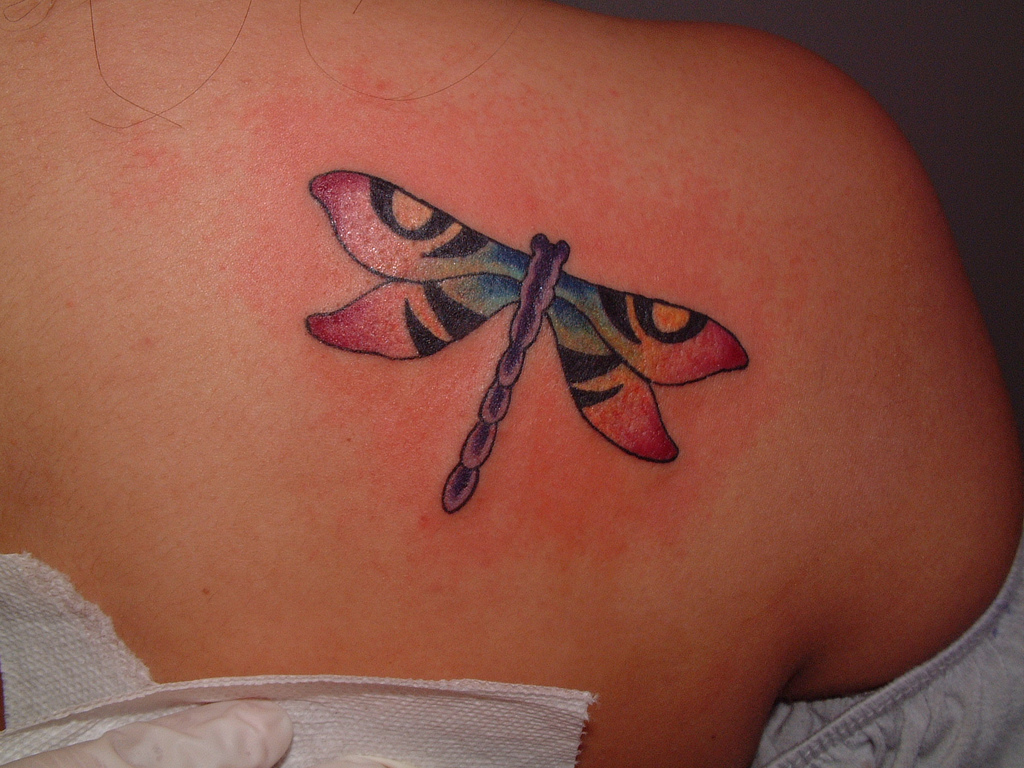 dragonfly tattoos photo - 24