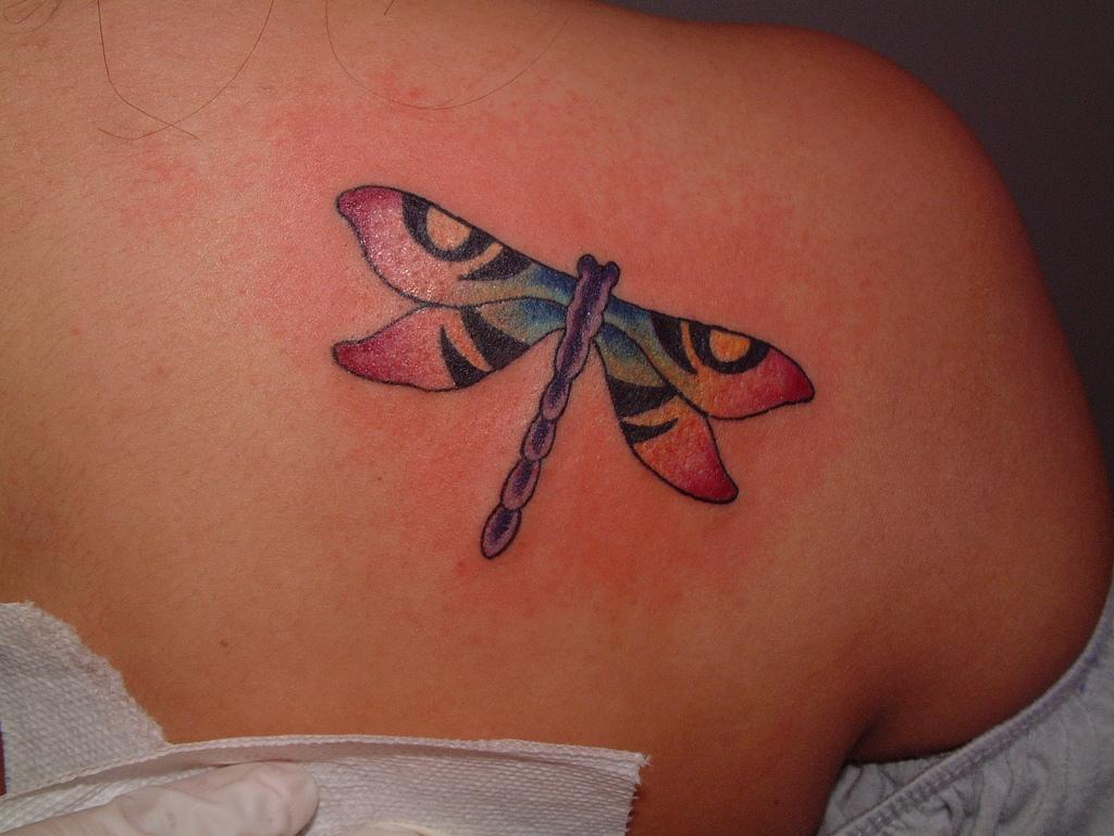 dragonfly tattoos photo - 24