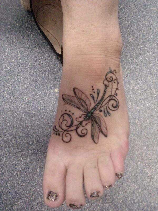dragonfly tattoos photo - 35