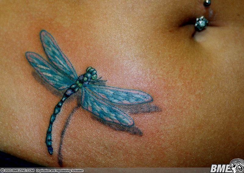 dragonfly tattoos photo - 39